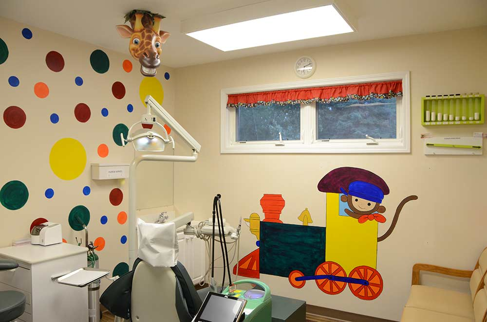 Interior of Office of Kurt Halum DMD, Dentistry for Children in Highland Illinois